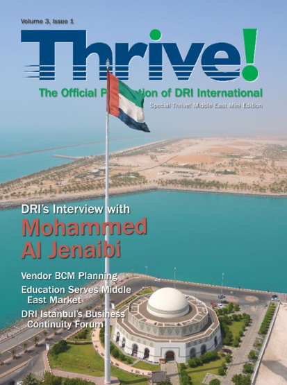 New THRIVE! Middle East Edition Out Now