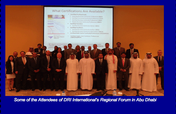 DRI International's Premier Forum in Abu Dhabi Was a Great Success!